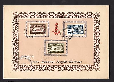 Turkey 1949 Istanbul Fair on Piece