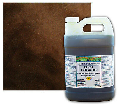 Concrete Resurrection RAC (Acid) Concrete Stain-Black Walnut - 1 Gallon