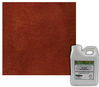 Concrete Resurrection RAC (Acid) Concrete Stain-Rich Mahogany 16oz
