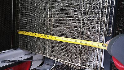 Stainless Steel 23x23 Bakery Donut Glazing Screen for Donut Fryers Cookers