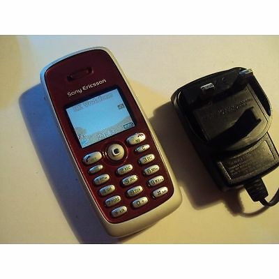 Original Easy Simple Retro Ericsson T300 On Vodafone+Charger