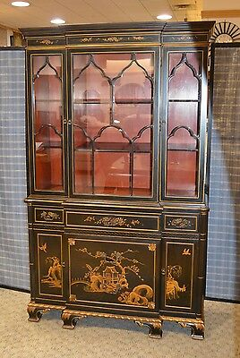 Vintage Asian Style China Cabinet