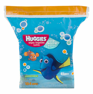 Huggies Wipes Lingettes One & Done Refreshing - 184 Count