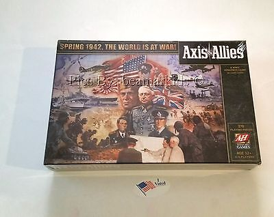 NEW Axis & Allies Spring World War II Avalon Hill Strategy Game NEW