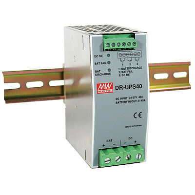 Mean Well DR-UPS40 Battery Charger 10-Pin