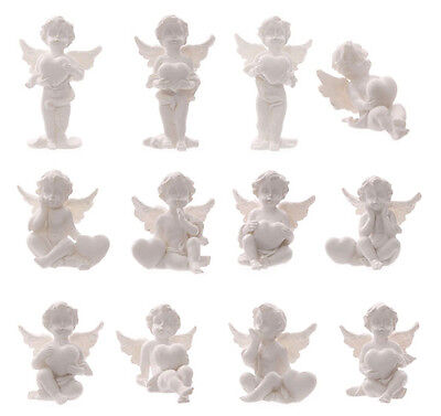 Cherub Guardian Angel Keepsake Collectable Figurine Heart World 4.5 - 6.5cm