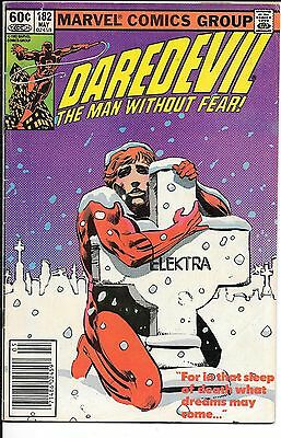 Daredevil The Man Without Fear #182 Newsstand Edition