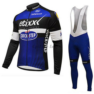 NEW jersey and short ETIXX QUICK STEP 2016 TOUR DE FRANCE WINTER all sizes