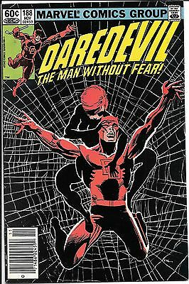 Daredevil The Man Without Fear #188 Black Widow Newsstand Edition