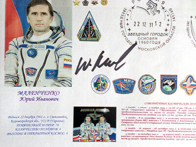 Malenchenko STS-106 Russian Cosmonaut Special Envelope Signed Original AUTOGRAPH