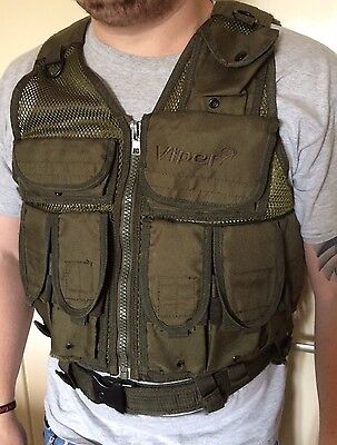 Viper Tactical Vest Airsoft, Fishing, Paintball Etc