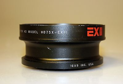 16X9 Inc. EXII 0.75X Wide Converter for HD75X-EXII