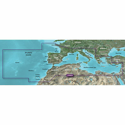 BlueChart g2 HXEU802X HEU802X - Mediterranean Sea and Iberian Pen. micro/SD card