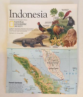 1996 National Geographic Map of Indonesia  (R)