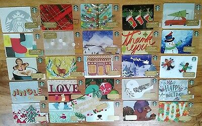 Starbucks Collector Gift Card - USA Full Set of 54 Christmas 2016, limited, new
