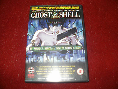 Ghost in the Shell DVD Anime