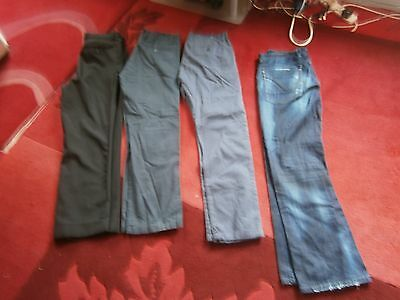 Job Lot Mens Jeans Chinos Trousers Size 34 From River Island Etc....