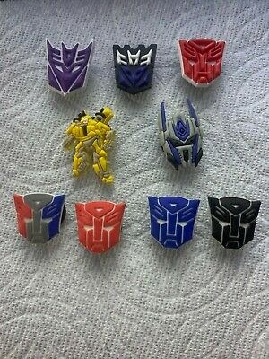Transformer Shoe Charms Autobot & Decepticon Bumblee Shoe Charms Fits Crocs