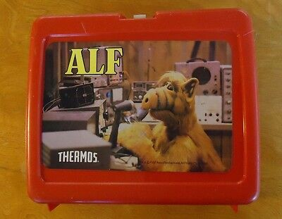 """""""Alf"""" character lunchbox, plastic, Thermos brand"""