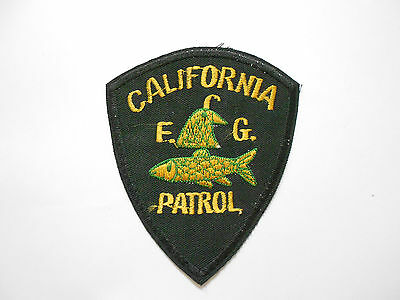 Patch - California Fish And Game Patrol Ranger POL