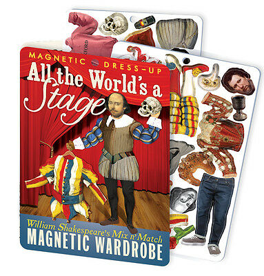 William Shakespeare All the World's a Stage - Magnetic Dress Up Wardrobe