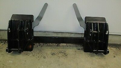 New Holland L35 L785 L783 781 Universal Skid Steer Quick Attach Conversion Hitch