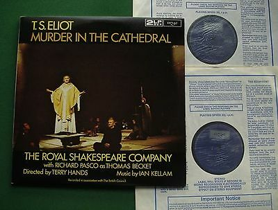 T S Eliot Murder In The Cathedral Royal Shakespeare Company ZSW 553/4 2 x LP