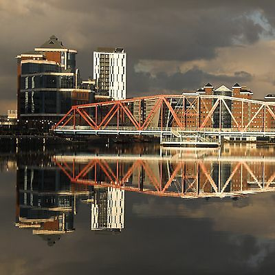 Original framed image of Salford Quays by the photographer