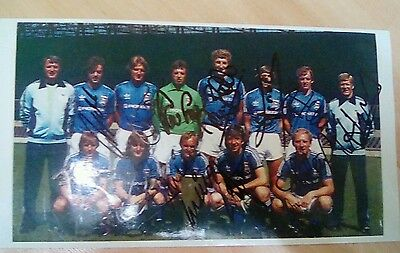Fully signed Ipswich UEFA Cup winners 1981 photo