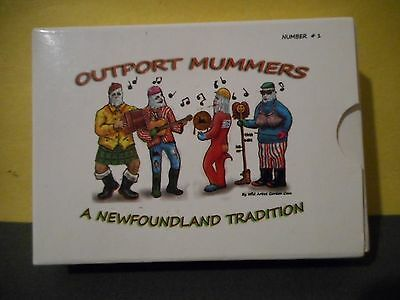 Outport Mummers,A Newfoundland Tradition,Deck of Playing Cards