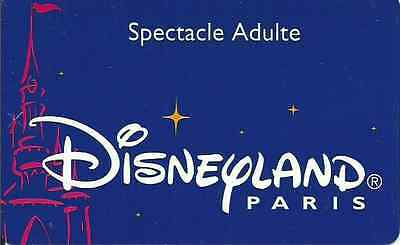 Passeport Disney Disneyland Paris Spectacle Adulte S089538 Bon Etat