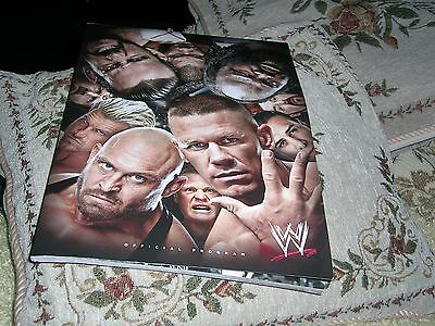 Wwe Official Programme  2013