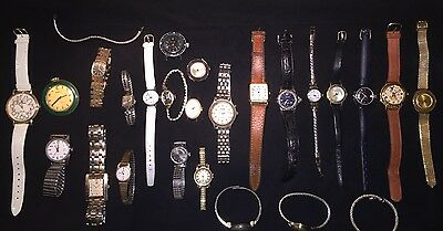 Lot Of 25 Assorted Ladies Watches