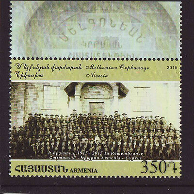 Armenia 2015 MNH - Genocide - Joint issue with Cyprus - one stamp