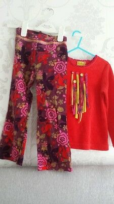 Little Darlings outfit top age 3 and trousers used age 5