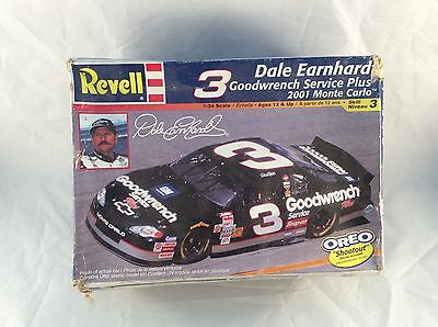 Revell #3 DALE EARNHARDT 2001 MONTE CARLO GOODWRENCH Model Car 1/24