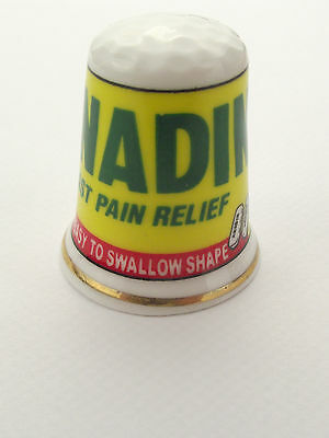 Thimble  - Advertising Thimble Guild Anadin Fast Pain Relief More Available