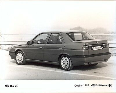 Alfa Romeo 155 Q4 1992 original press photo - 2