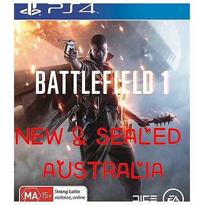 BATTLEFIELD 1 One PS4 NEW AND SEALED game Australia