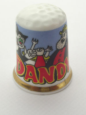 Thimble  - Advertising Thimble Comic Dandy - More Available Comb P N P