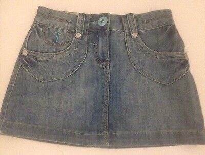 Girls Dunnes Denim Short Skirt With Pockets Age 10. Really Gorgeous VGC
