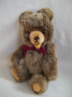 Vintage Antique German Jointed Mohair Open Mouth Teddy Bear