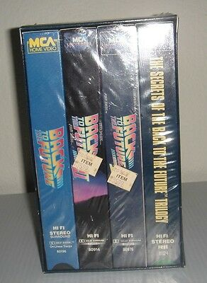 Back To The Future The Trilogy Vhs