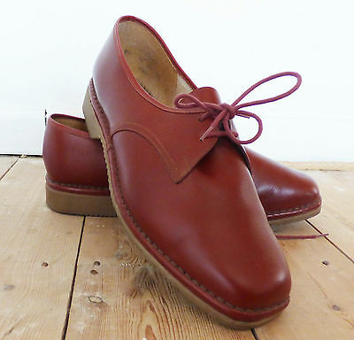 Vintage 1960s 60s Ladies Brevitt Bouncers Shoes Loafers mod Leather Size 9