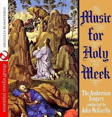 Ambrosian Singers - Music for Holy Week [New CD] Manufactured On Demand