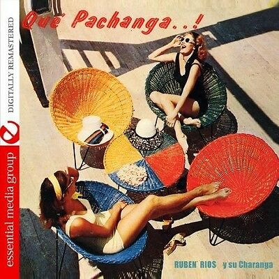 Rub n R os, Rubén Ríos, Ruben Rios - Que Pachanga..! [New CD] Manufactured On De