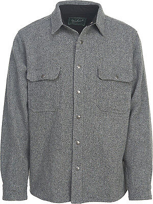 Woolrich Alaskan Wool Shirt, Mens