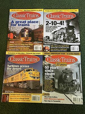 2010 Classic Trains Magazine, Lot of all 4 issues