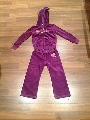Girls Juicy Couture tracksuit age 2 STUNNING