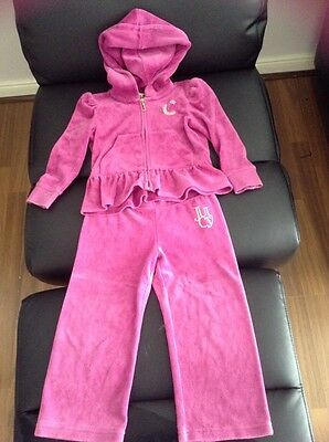 Juicy couture girls xs tracksuit